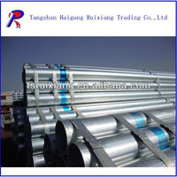 galvanized pipe size chart