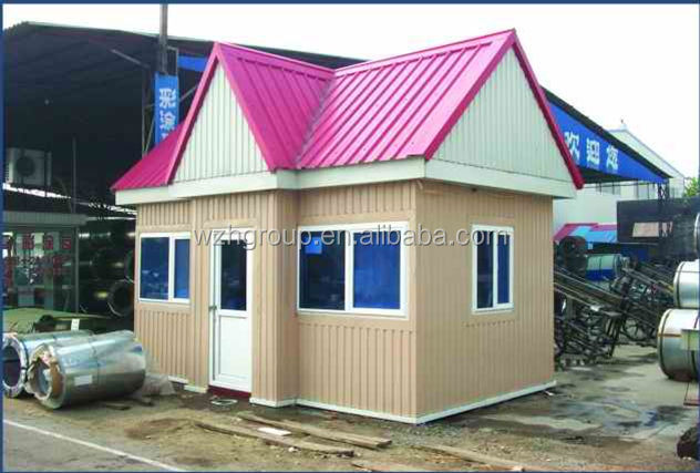 Container house villa flat pack when loading and self-installed