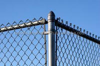 High quality hot dip galvanized >=200g/square meter chain link fence in store for sale (8 years producing experience)