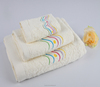 Factory Price Embroidery Egyptian Cotton Bath Towel Set