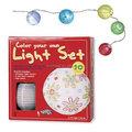 Diy led linterna de papel china linterna para diversión o decoración