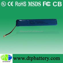Trade assurance supply 12v li-ion polymer/lithium ion/lipo battery price 700mah