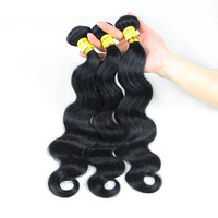 2015 hot selling 7A Grade unprocessed human hair Body Wave Wholesale Price Chinese Hair Extension fast delivery free shipping