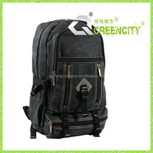 Canvas School Laptop Bag, military outdoor backpack