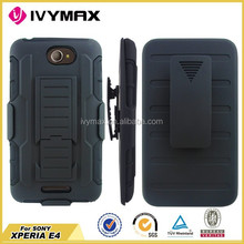 Holster Robot combo case for Sony E4 3 piece case wholesale