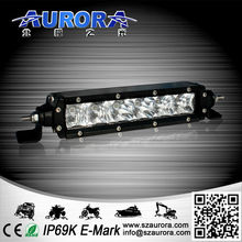 saltproof high power 6inch 30W single row led light bar new motorcycle lamp light