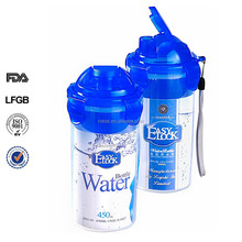 L Hot sale japanese bottle water bottle with filter