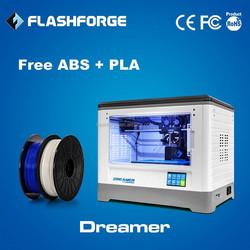 Flashforge Dreamer touch screen 3d printer