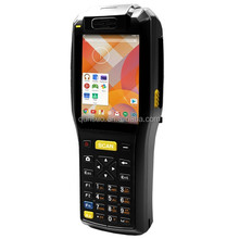 android barcode scanner terminal,portable pos terminal printer,NFC smart terminal with 3G and camera
