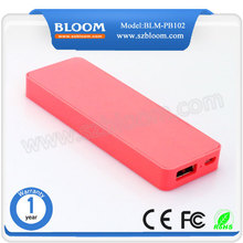 Best alibaba china supplier OEM mobile phone charger, 4000mah portable battery charger