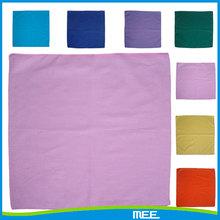 cotton plain solid lavender bandana