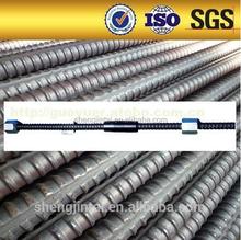 High Quality Thread Bar Ground anchors wall soil nailing screw anchor tieback system