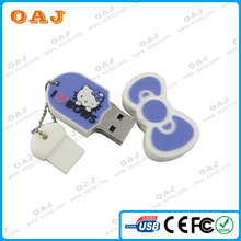 Design antique pvc kid usb flash drive