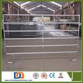 Heavy duty tubería de acero galvanizado ganadería corral paneles de la cerca