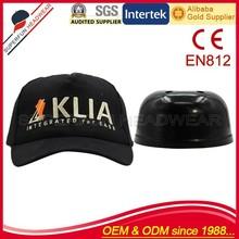 embroidery worker safety plastic baseball helmet