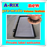 decarative professional japanese import goods 0.07 Pre-made fan lashes
