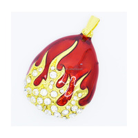Fire style Jewelry USB flash drive with necklace