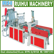 pe automatic t-shirt plastic bag making machines