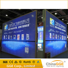 led Fabric poster lighting board with large surface