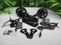 Motorcycle audio amplifier