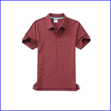 Wholesale High Quality Plain Casural 100% cotton v-neck pocket Polo t-shirt for men