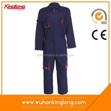 80% cotone 20% poliestere tessuto della saia tuta indumenti da lavoro meccanico