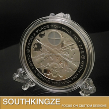 Military Professinal America Sniper Soldier Honor Challenge Souvenir coin