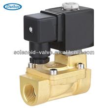 largo tiempo de trabajo dhd de latón de la válvula de solenoide para el agua y el aire