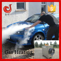 12V*4 18bar diesel steam car wash machine steam jet , steam car washer price