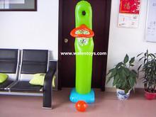 GIANT INFLATABLE BASKET BALL AND HOOP/Giant ShootBall Pool Inflatable Basket Ball Game for Swimming Pools