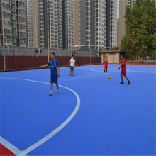 Easy to install portable flat surface football/soccer/futsal field