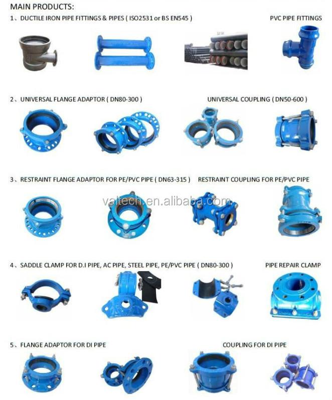 Ductile iron universal wide range flange adaptor buy