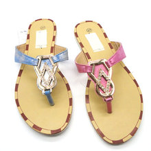 Embroidered lambs cheap wholesale house slipper