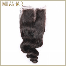 Alibaba China Round Lace Filipino Hair Top Brazilian Lace Closure
