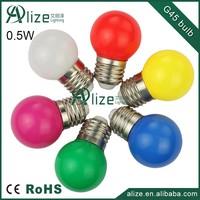 holiday lighting 360 degree PC G45 E27 led color bulb