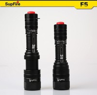 High peformance tactical LED flashlight with zoomable function and belt clip