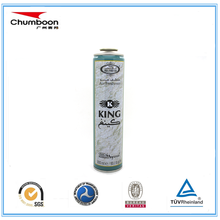 China manufacturer supply pressure necked-in aerosol tin packing can