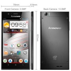 Original Lenovo K900 32GB 5.5 inch 3G Android 4.2 Smart Phone, Intel Atom Z2580 Dual Core 2.0GHz, RAM: 2GB, Support OTG