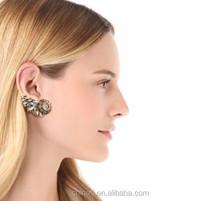 Wholesale Alibaba Woman Fashion Rhinestone Ear Wrap Cuff Clip on Earring