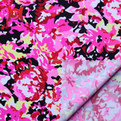printed nylon spandex knitting fabric for sports wear