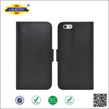 Luxury Genuine leather wallet case for Iphone 6S , Flip case for Iphone 6S