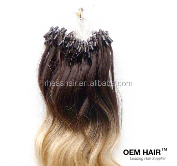 Micro Ring Weft Hair Extension Technique 87