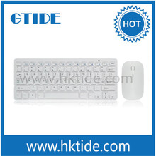 China hotselling tablet pc wireless Keyboard and Mouse sets