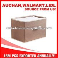 Large nonwoven fabric foldable storage box