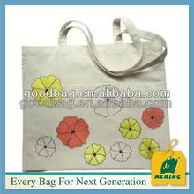 factory supply canvas cotton tote duffle bags wholesale