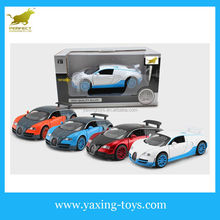 1:32 Pull Back Diecast Model Car With Sound And Light,Metal Car For Kids With Opened Door YX001122