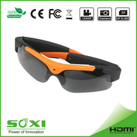 High quality outdoor glasses with video camera