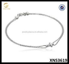 Sterling Silver Faith Bracelet Silver 925 Cross Jewelry Plain Silver Bracelet Jewelry