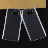 Note 5 edge anti plain crystal Transparent Ultra Slim Plastic clear hard case back cover for samsung note 5 edge