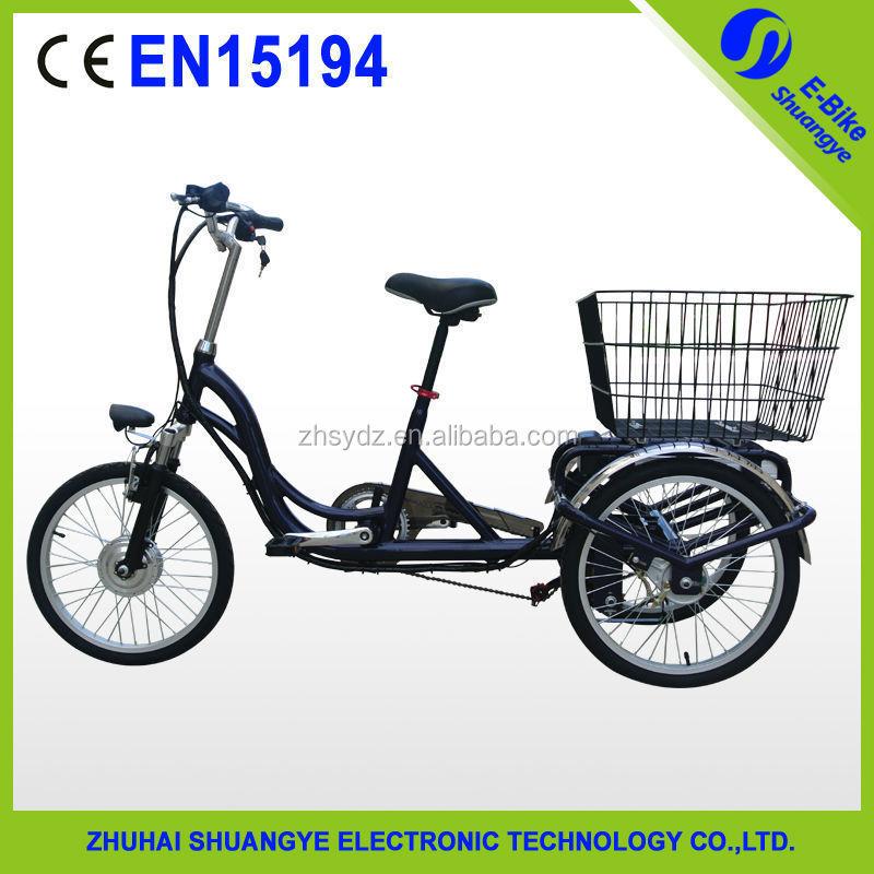 3 wheel adult electric bike